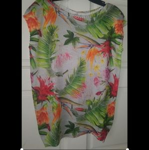 Luisa Ricci Made In Italy Floral Top